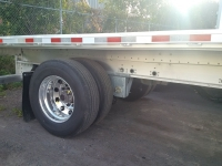 New Great Dane All Aluminum Freedom XP 53' Tandem Rear Axle Slide Flatbed 6