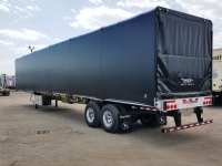 NEW GREAT DANE FREEDOM LT 53' COMBO TANDEM  FLATBED TRAILERS WITH VERDUYN EAGLE SLIDE KIT 2