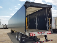 NEW GREAT DANE FREEDOM LT 53' COMBO TANDEM FLATBED TRAILERS WITH OPTIONAL VERDUYN EAGLE SLIDE KIT 5