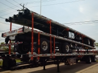 NEW GREAT DANE FREEDOM LT 53' COMBO TANDEM FLATBED TRAILERS WITH OPTIONAL VERDUYN EAGLE SLIDE KIT 1