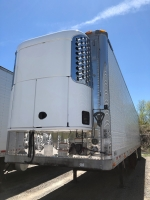 USED 2011 GREAT DANE INDEPENDENT SLIDER TANDEM AXLE REEFER TRAILER WITH THERMO KING DUAL TEMP CONTROL SYSTEM 1