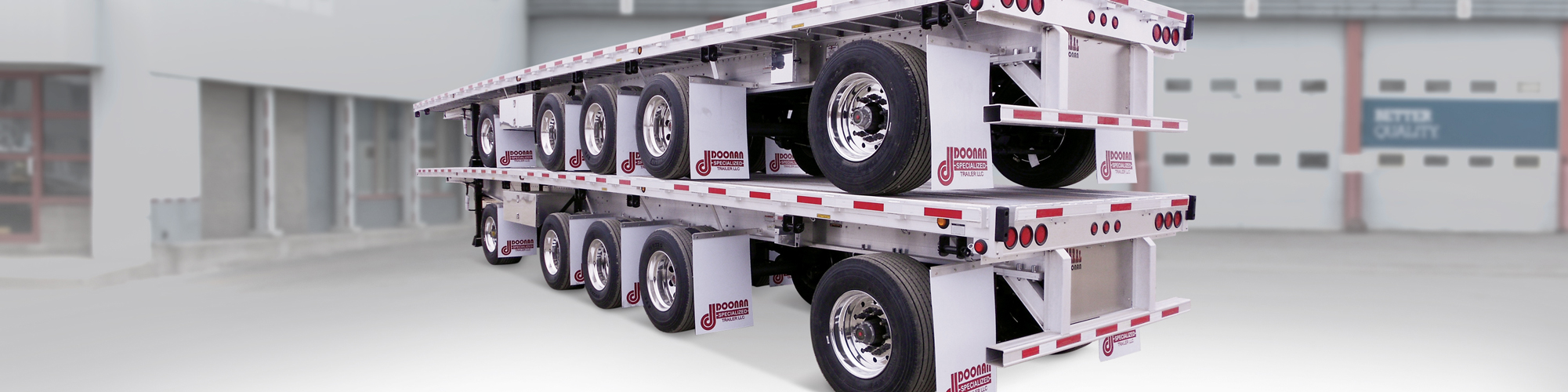 Doonan and Chaparral trailers